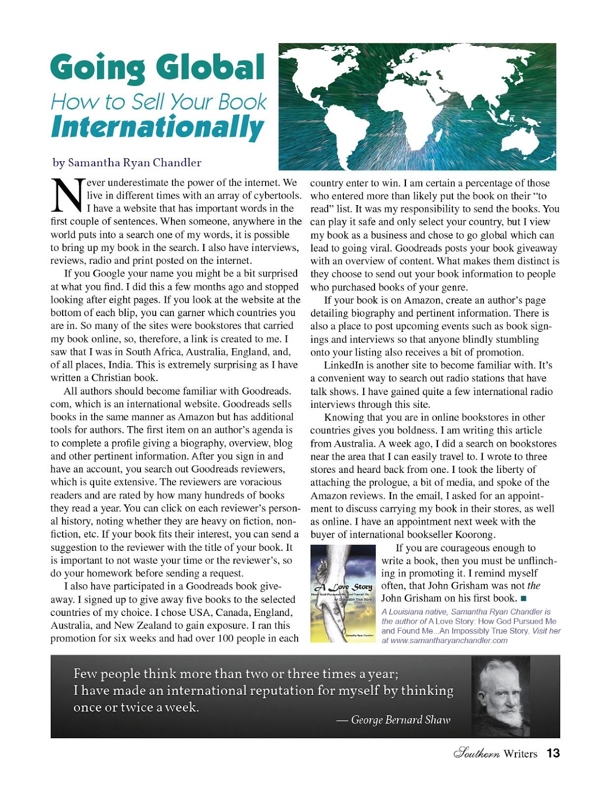 magazine article template