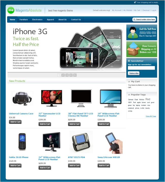 magento community templates 10 best magento free themes images on pinterest