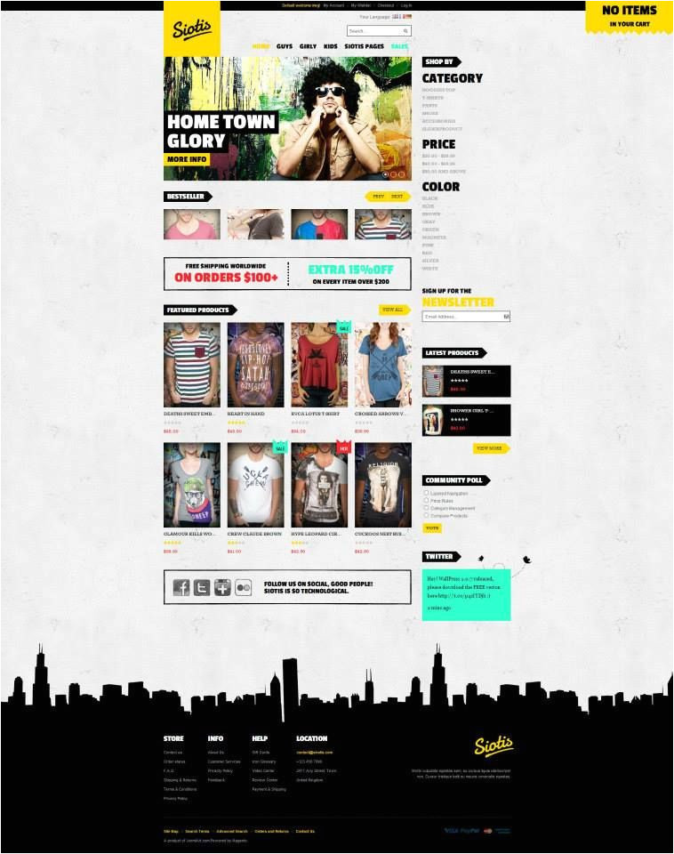 magento community templates 10 best magento free themes images on pinterest 3