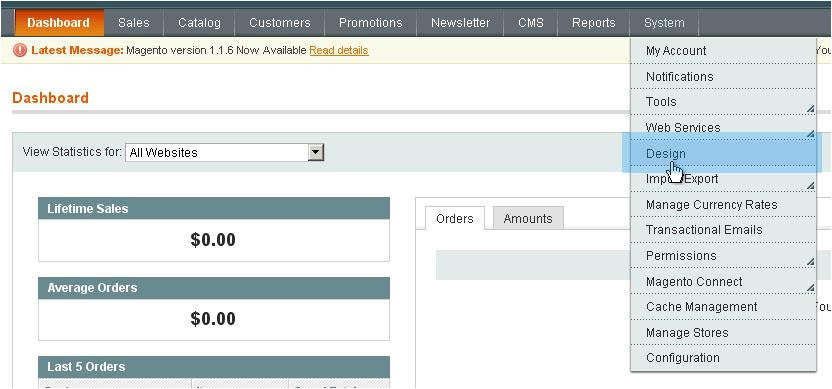 install magento template over existing store without sql import