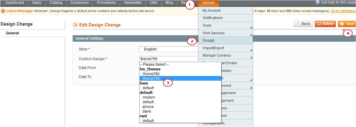 Magento Import Template Magento Wie Man Eine Vorlage Auf Den Bestehenden Online