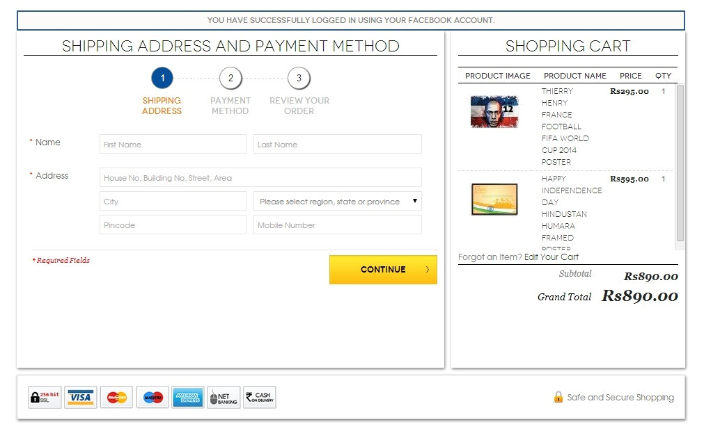 magento shopping cart sidebar template