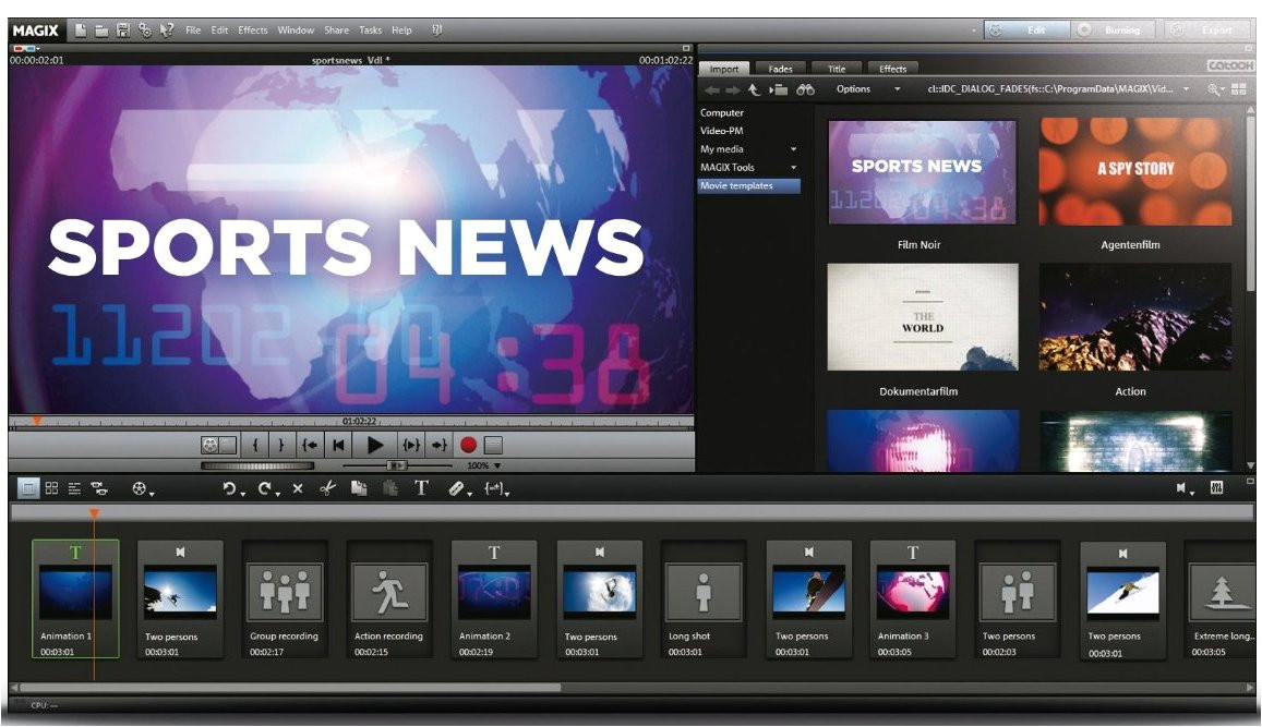 magix movie edit pro mx plus next