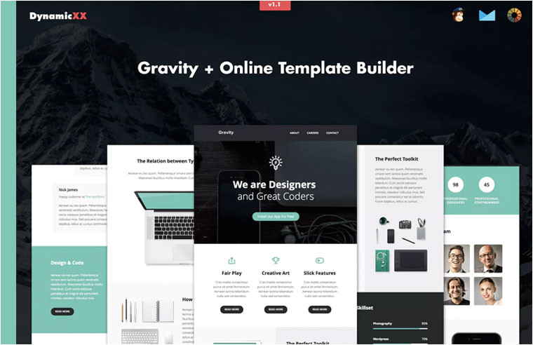 creative mailchimp ready email templates