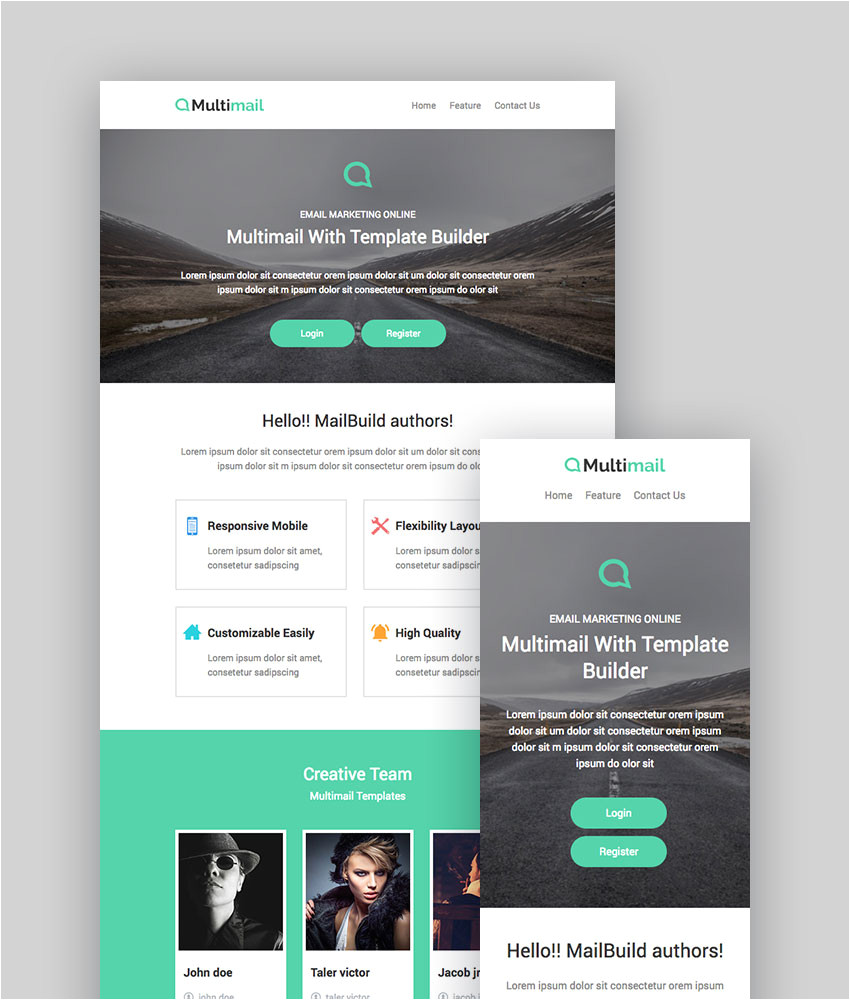 best mailchimp templates to level up your business email newsletter cms 26492
