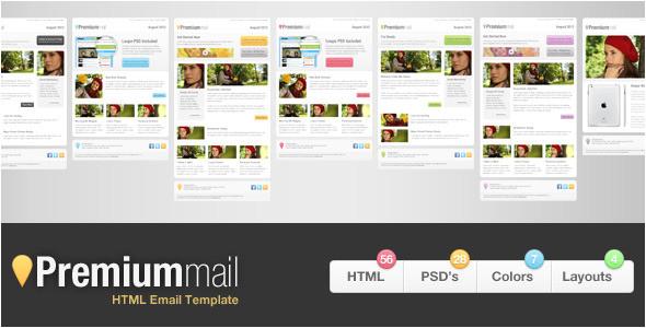 mailchimp premium templates
