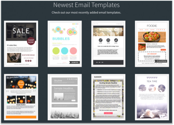 Mailchimp Sample Templates top 3 Marketing Automation Platforms for Smbs