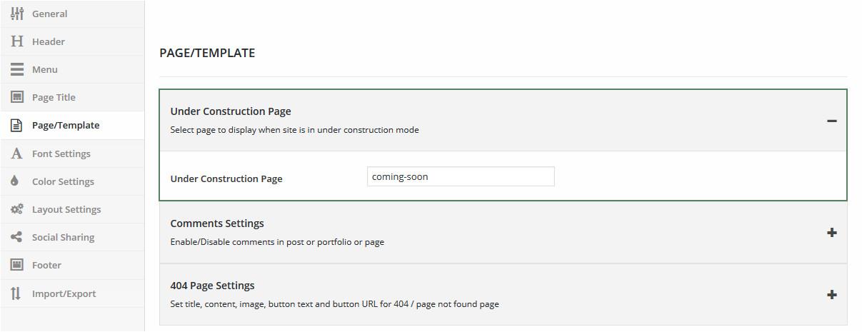 Maintenance Mode HTML Template Setup Under Maintenance Mode Brando Documentation