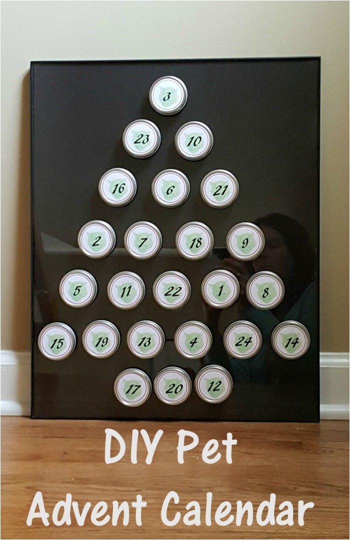 Make Your Own Advent Calendar Template Diy Pet Advent Calendar Honest and Truly