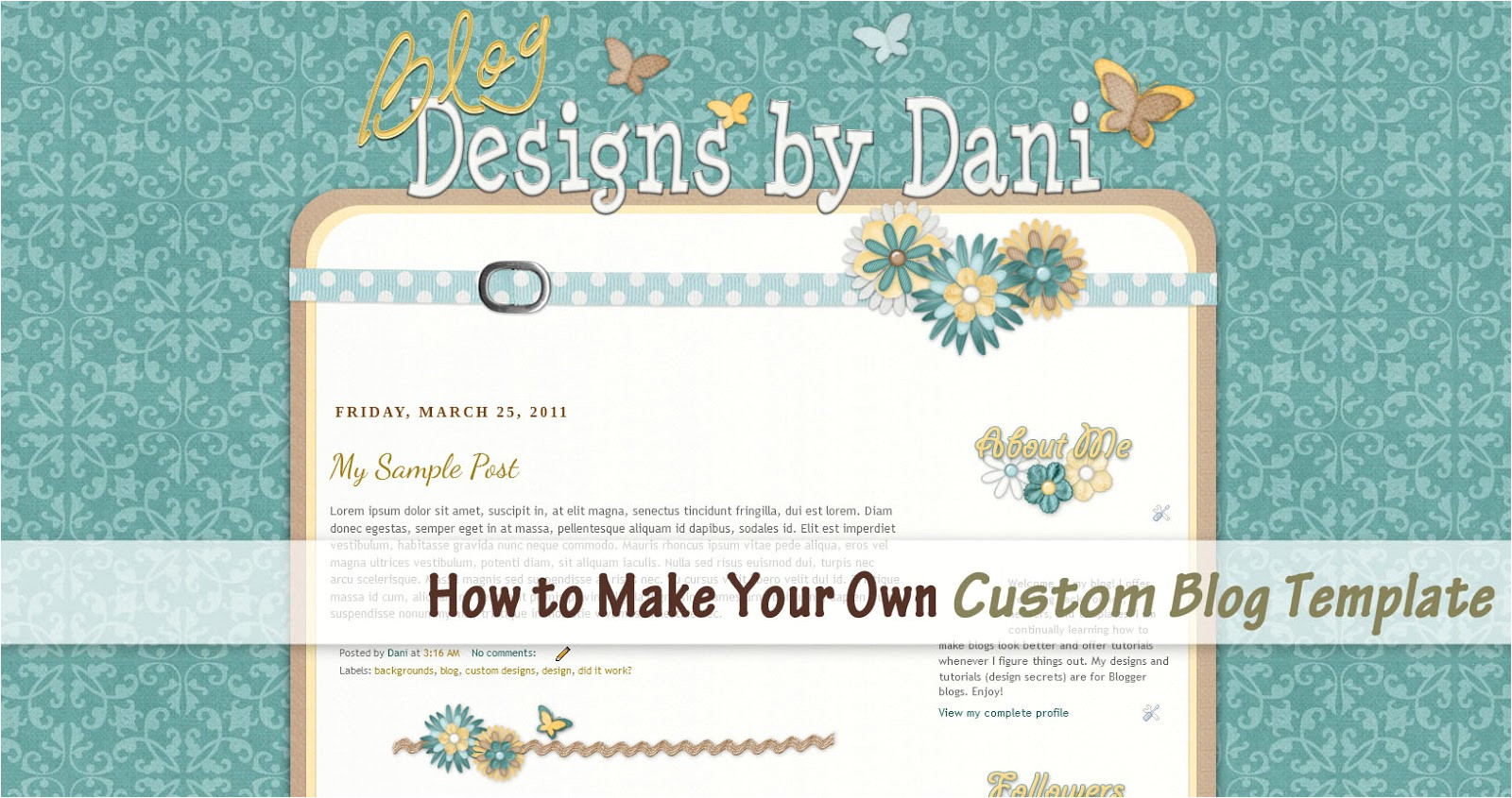 Make Your Own Blogger Template 13 Best Photos Of Blog Design WordPress Custom Blog