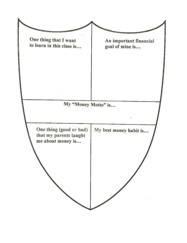 coat of arms template symbols design