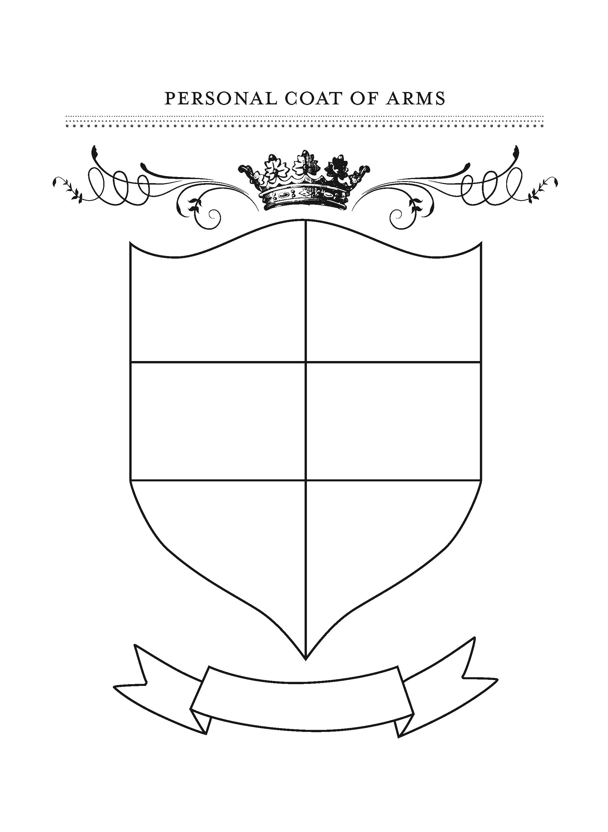 personal coat of arms