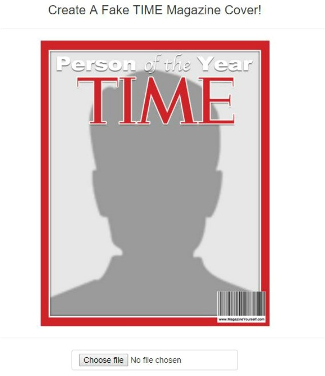 make your own magazine cover template