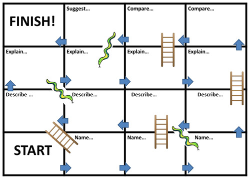 snakes and ladders template 6299188