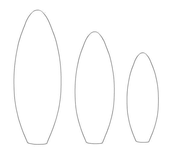Making A Surfboard Template How to Make A toy Surfboard or Windsurf Board Mum In the
