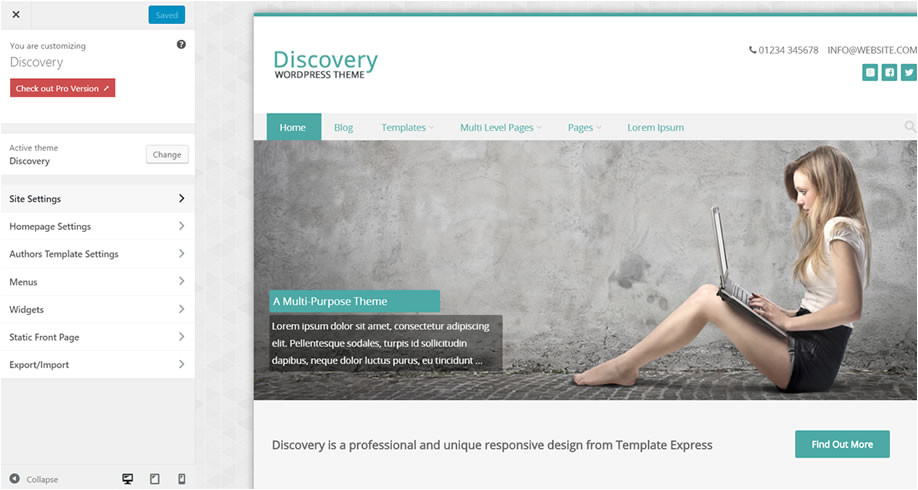 discovery theme