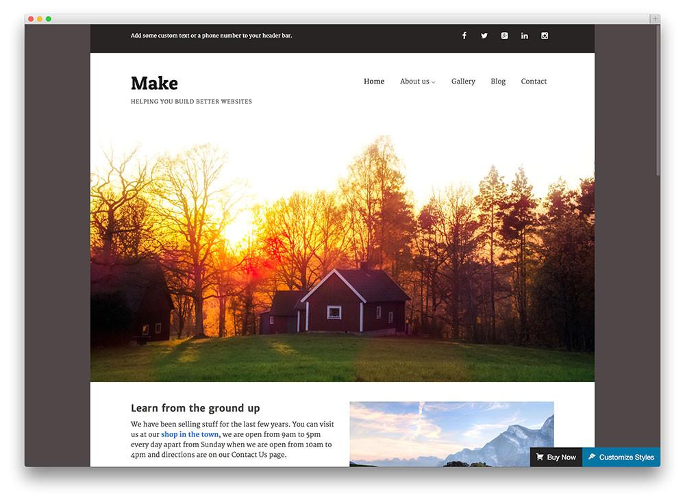 free flat design themes
