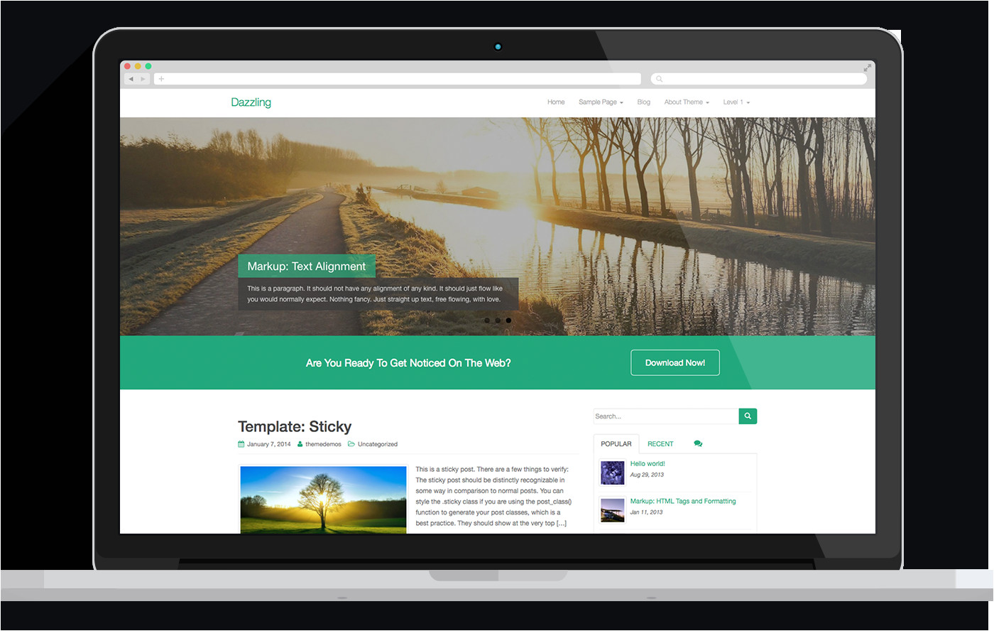 Making WordPress Templates Want to Create A Responsive Website Stunning Wp themes