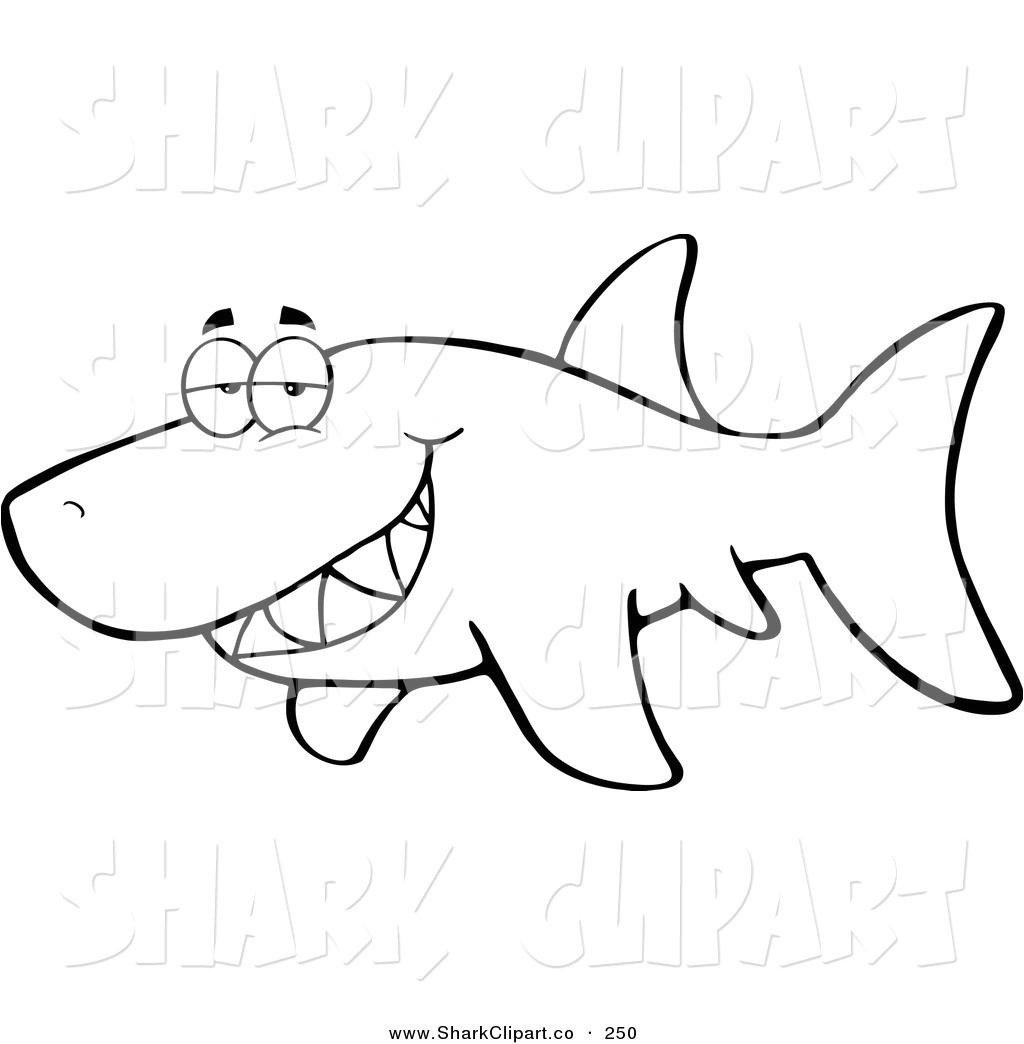 Mako Template Mako Shark Clipart Printable Pencil and In Color Mako