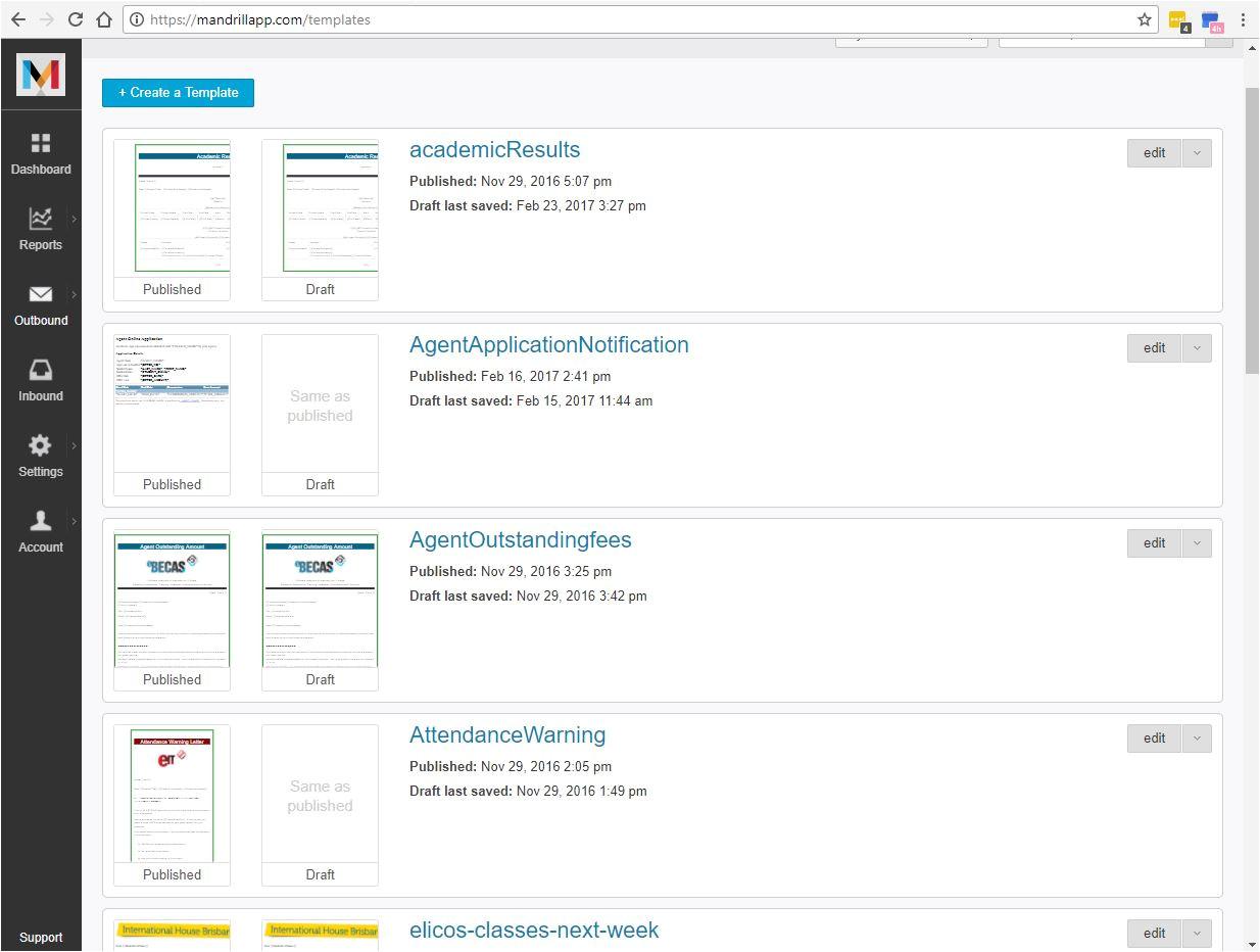 Mandrill Templates Sending Email Ebecas Documentation