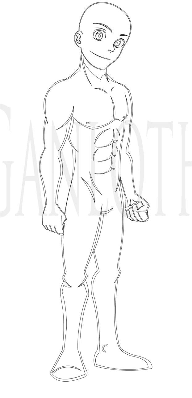 Manga Character Template Anime Template by Bill James On Deviantart