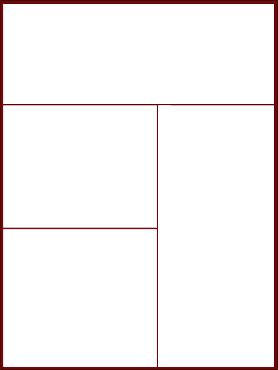 Manga Page Template Comic Manga Page Template 1 by Pwnno0bs On Deviantart