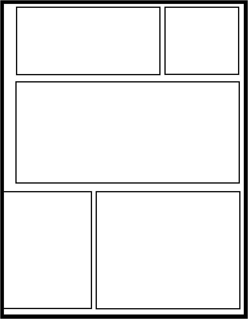 comic page base