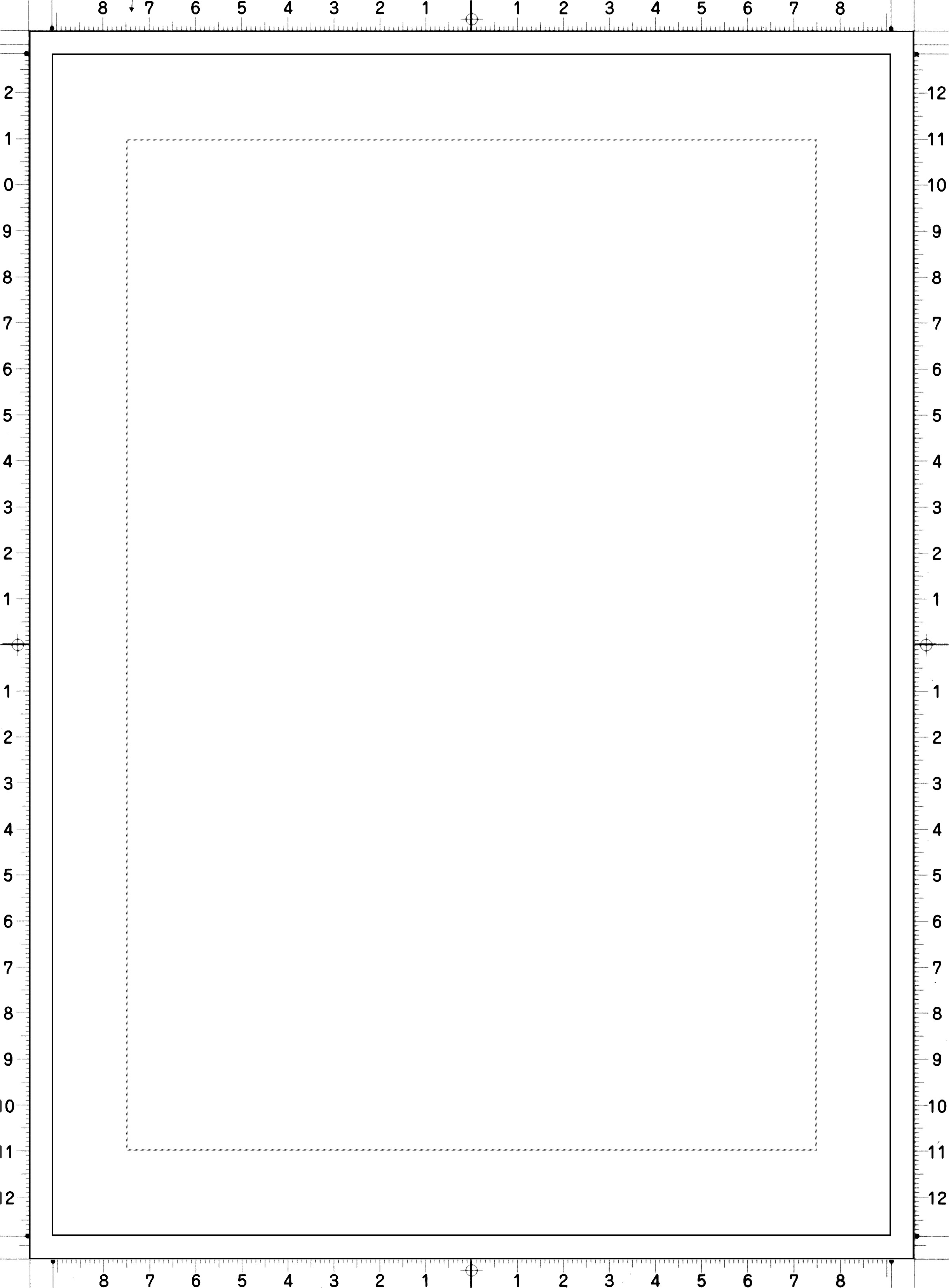 Manga Page Template Comic Page Template by Yaen On Deviantart