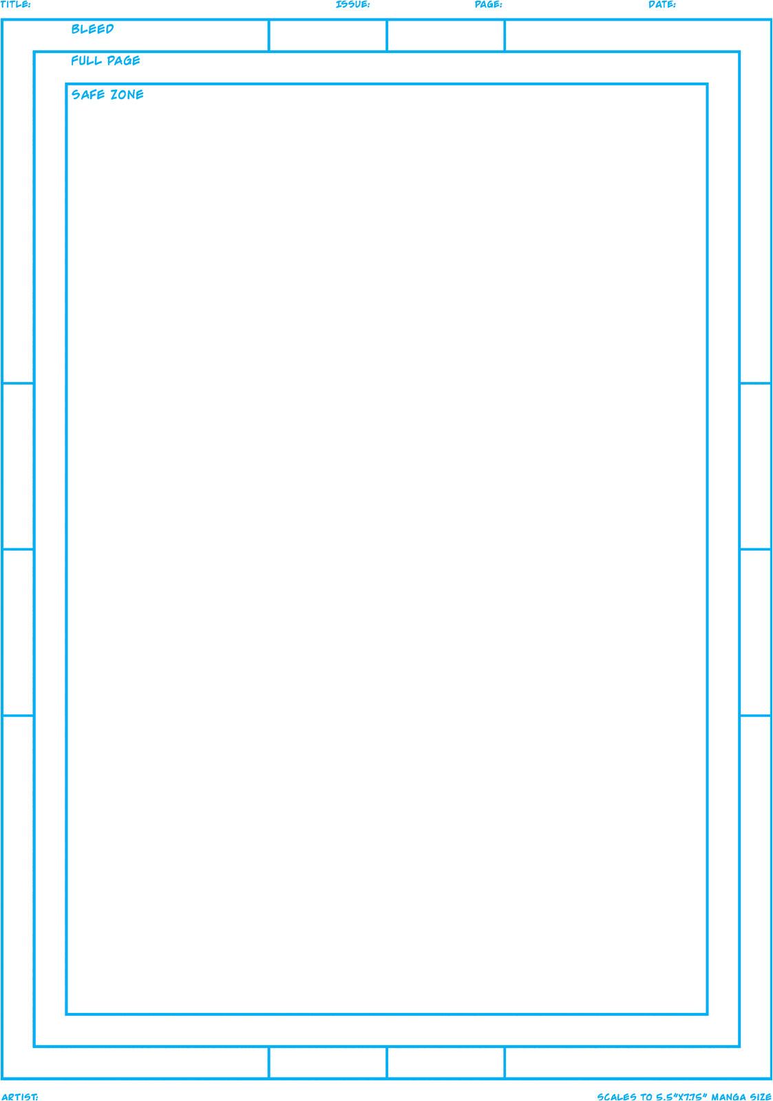 build your own mini comic
