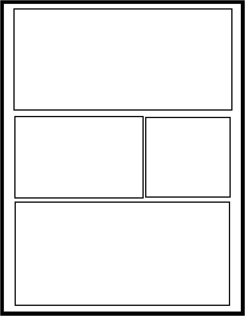 manga body template