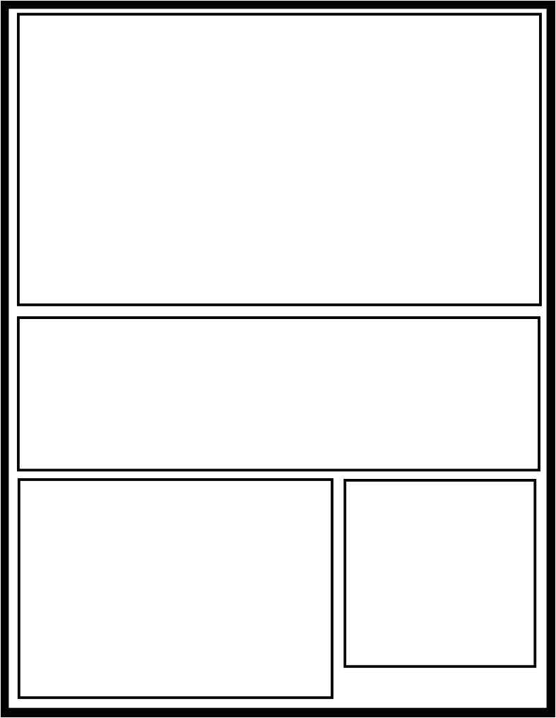 Manga Page Template Smt 29 by Comic Templates On Deviantart