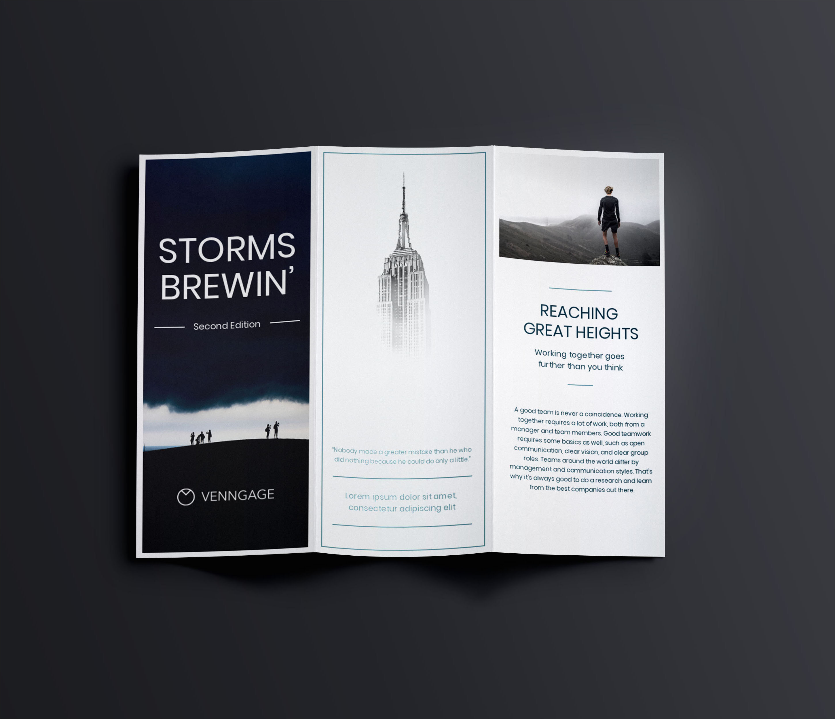 Marketing Booklet Template 35 Marketing Brochure Examples Tips and Templates Venngage