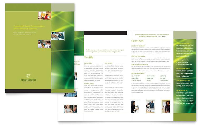 internet marketing brochure templates tc0120101d