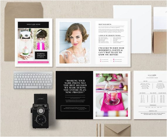 wedding photography marketing sets