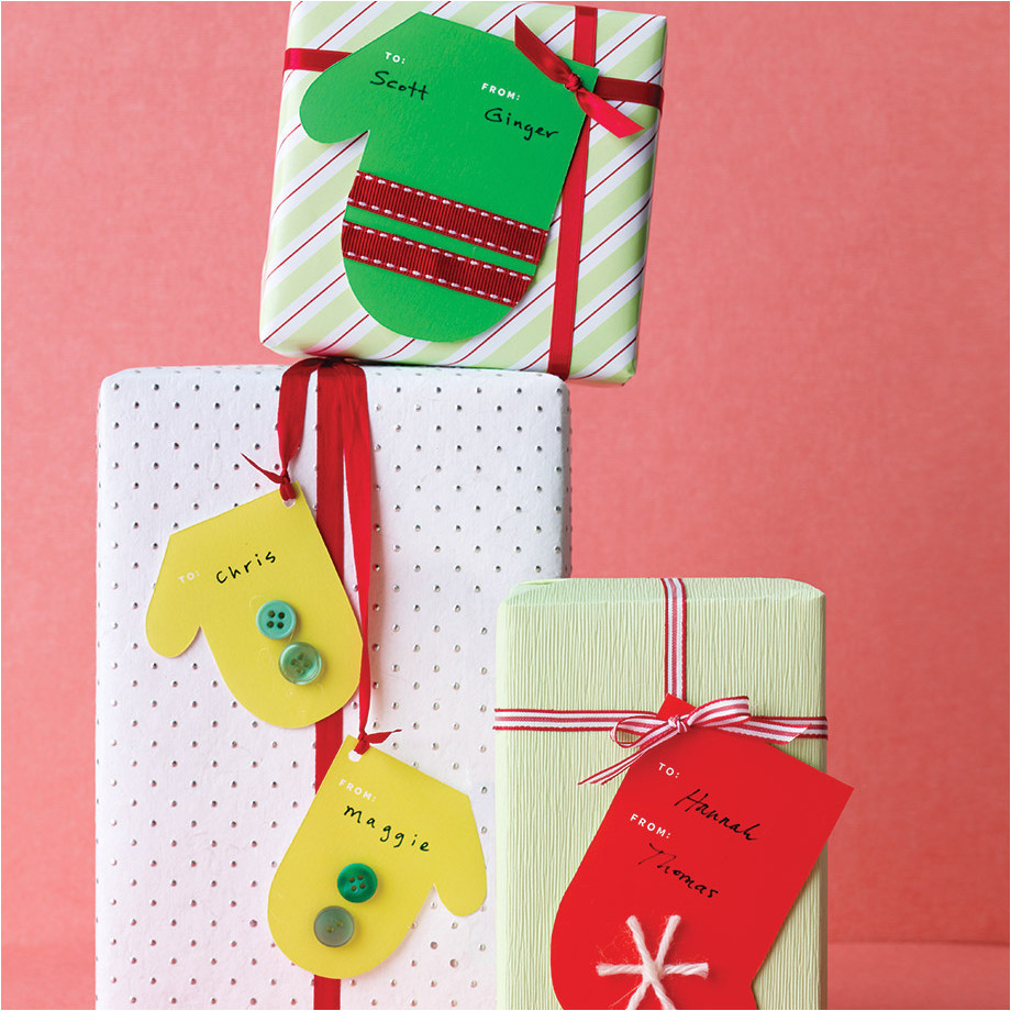 holiday gift tags and labels