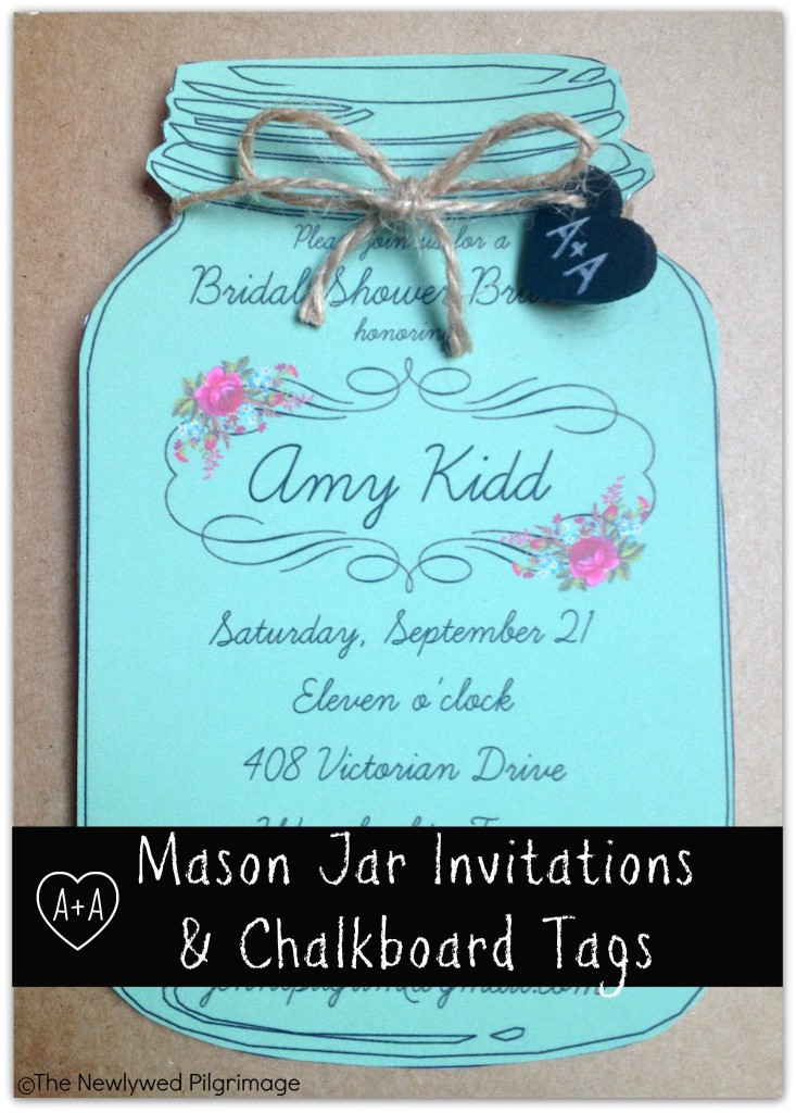 Mason Jar Invite Template Mason Jar Invitations Template Best Template Collection