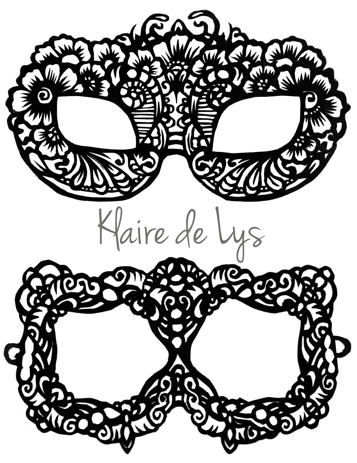 Masquerade Mask Template for Adults Best Photos Of Printable Face Masks for Adults Full Face