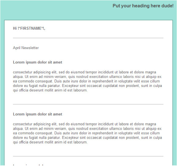 new html email templates available in groupmail v5 3 0 119
