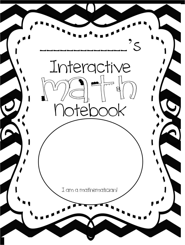 Math Interactive Notebook Templates First Grade Wow Interactive Math Notebook