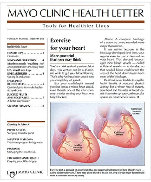 mayo clinic health letter magazine
