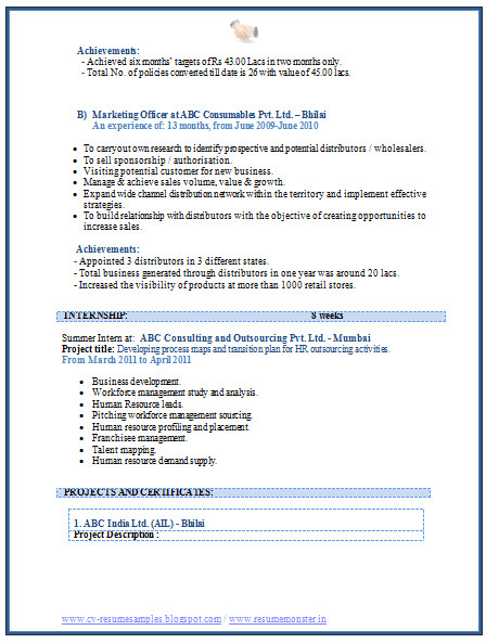 Mba Marketing Experience Resume Sample Writing and Publishing A Scientific Paper School Of