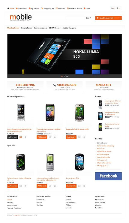 Media Template Hosting Media Template Hosting 11 Best Opencart Responsive themes