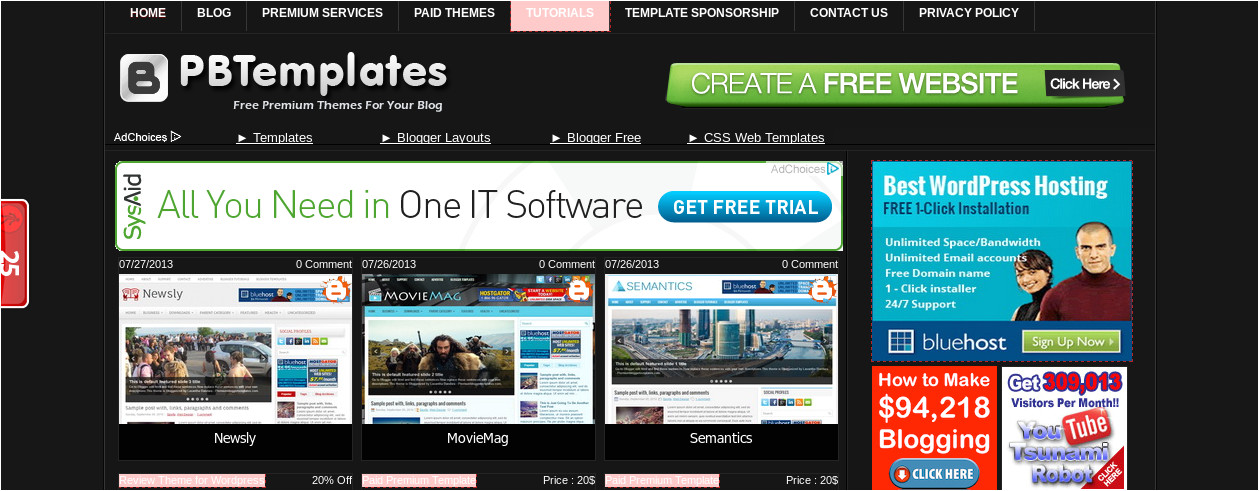 media template hosting looking for responsive blogger templates 10 best places to download