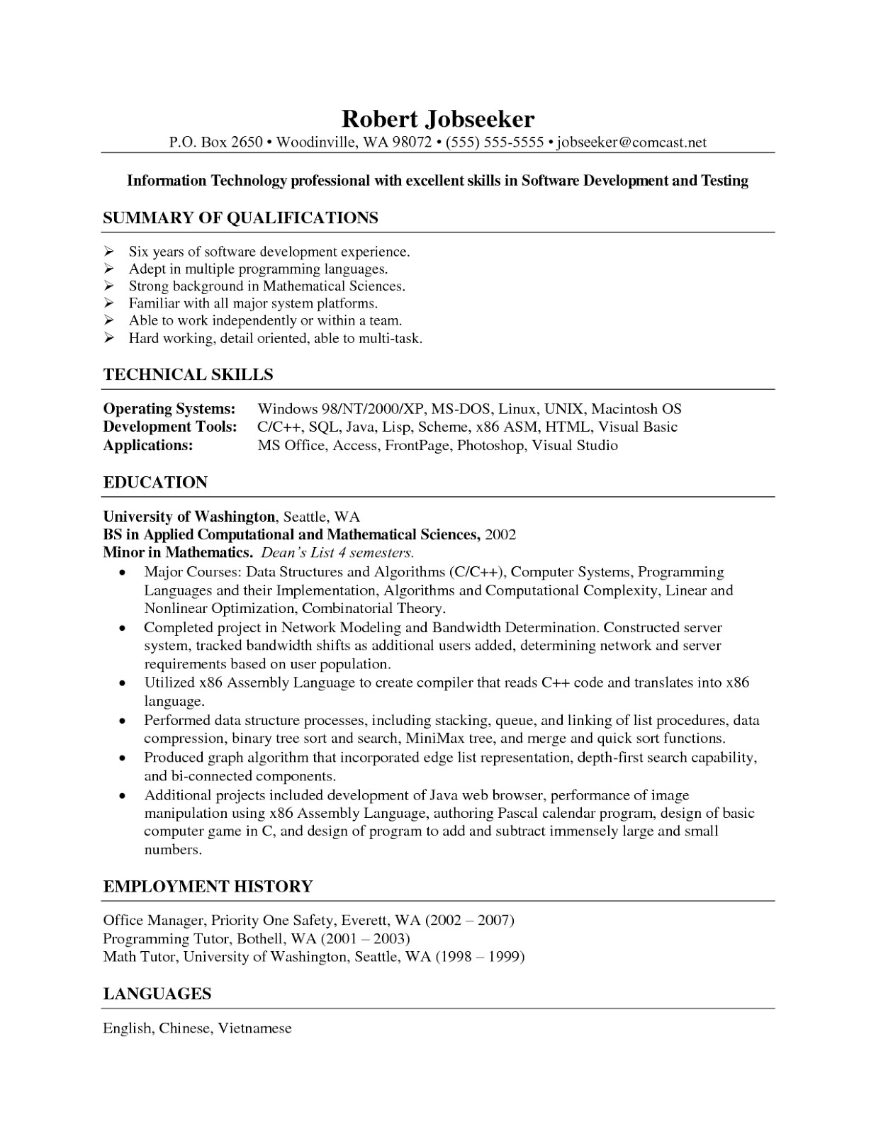 medical billing resume no experience