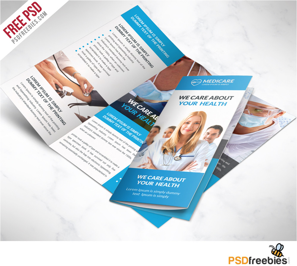 Medical Tri Fold Brochure Templates for Free 16 Tri Fold Brochure Free Psd Templates Grab Edit Print