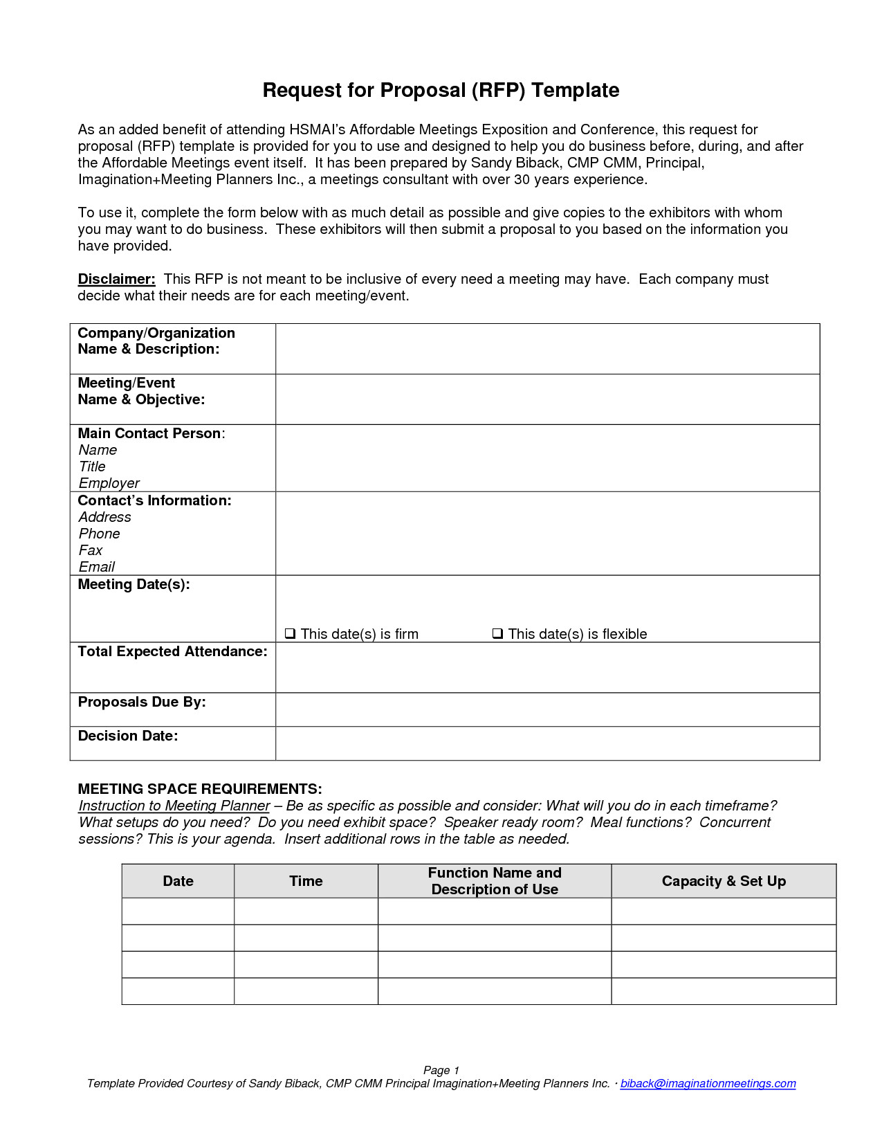 4452 meeting request for proposal template