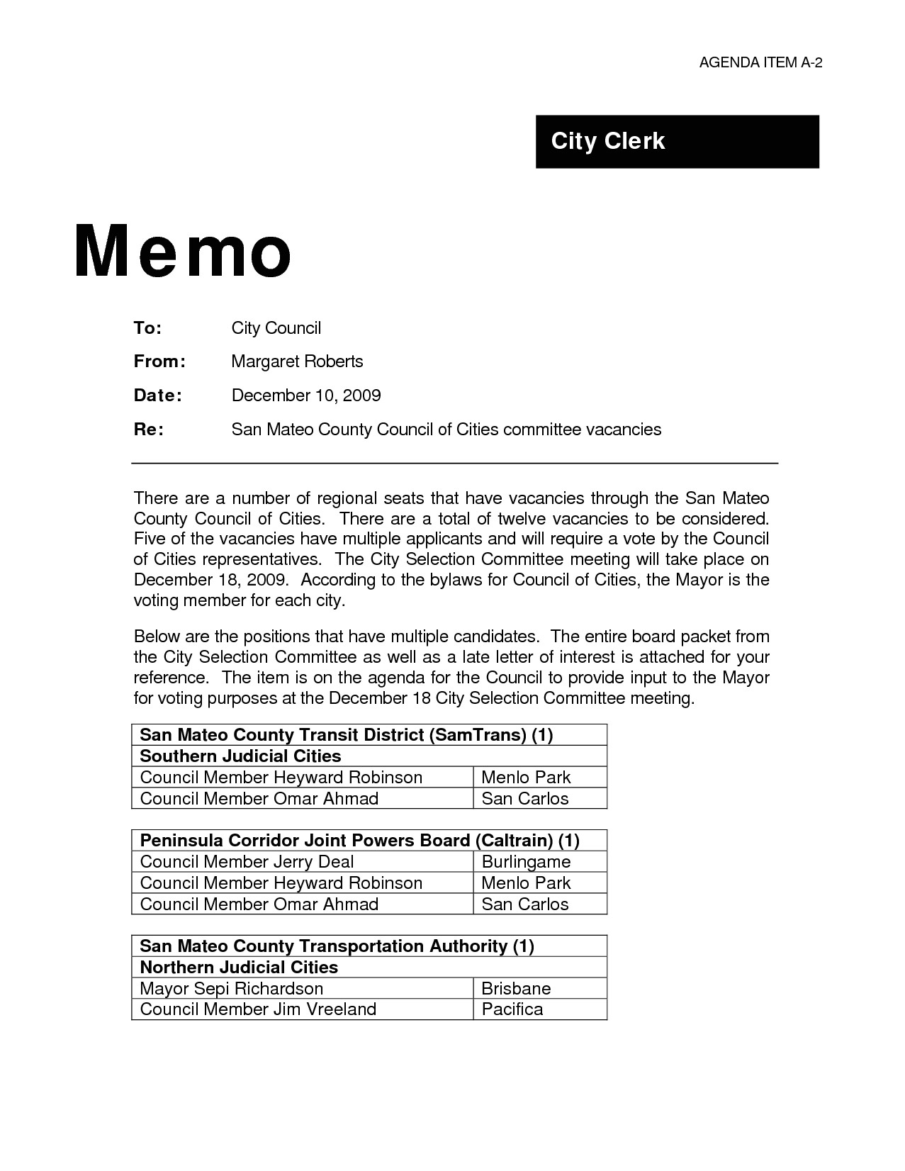 9 professional memo template