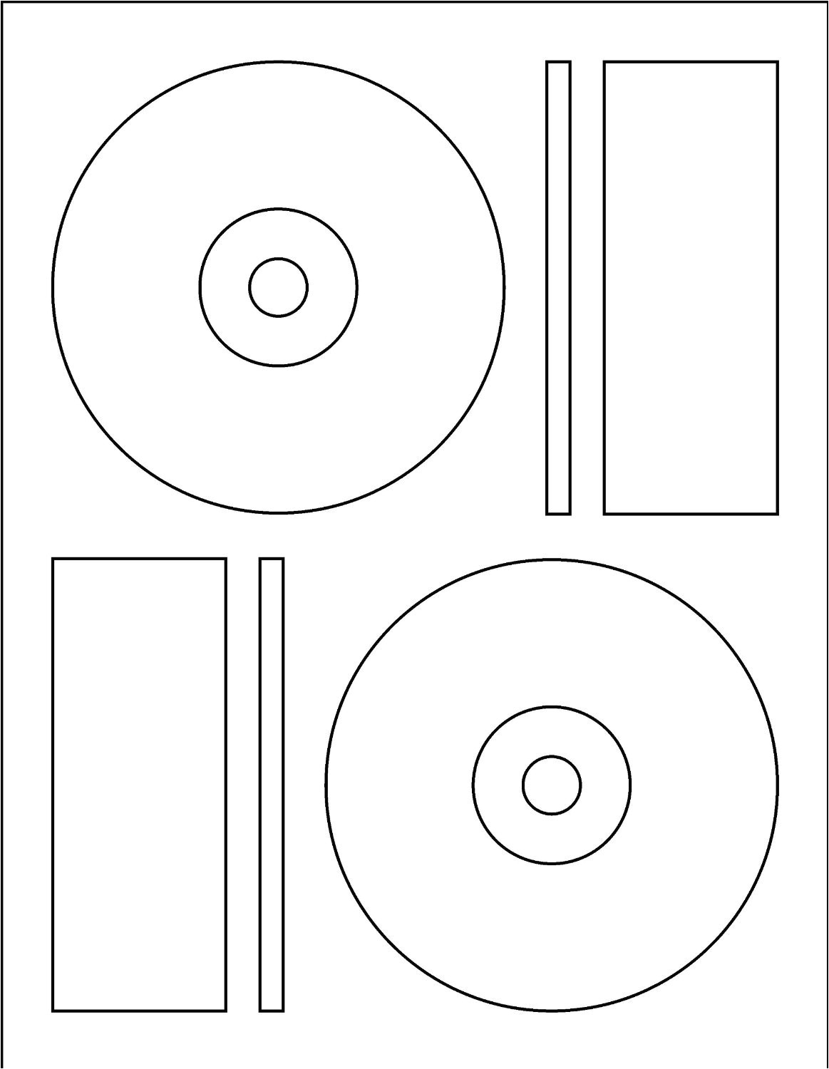 cd dvd label template memorex