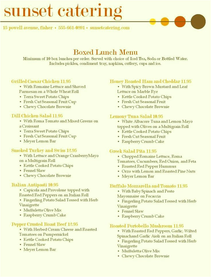 wedding restaurant menu template word design free
