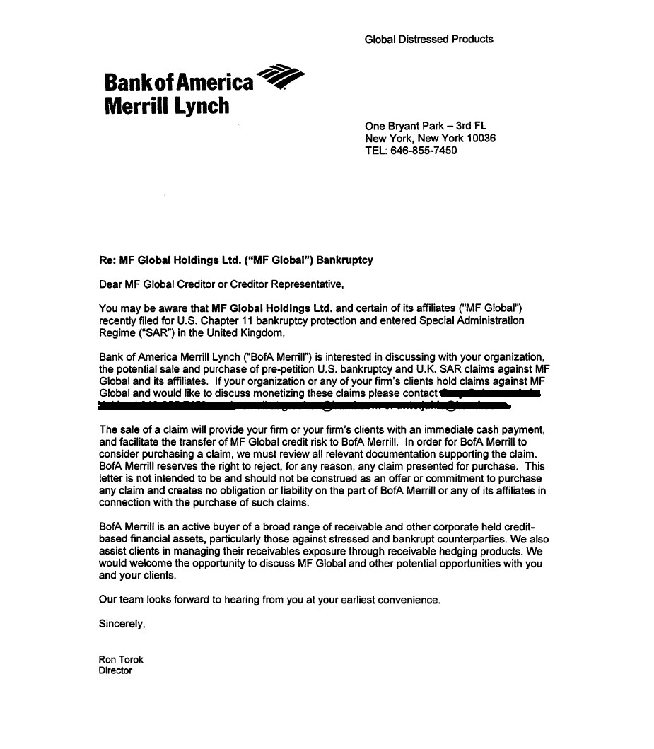 Merrill Lynch Cover Letter Jesse 39 S Cafe Americain Pigfest 2011 Bank Of America